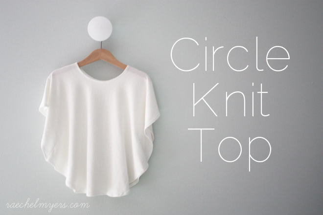 Circle Knit Shirt Tutorial Cratekids Blog
