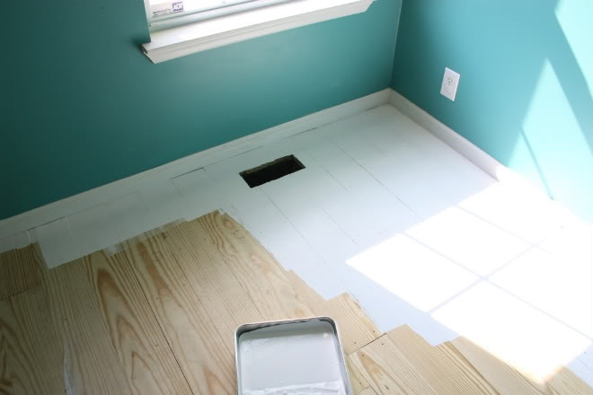 White Wood Floors Tutorial Cratekids Blog
