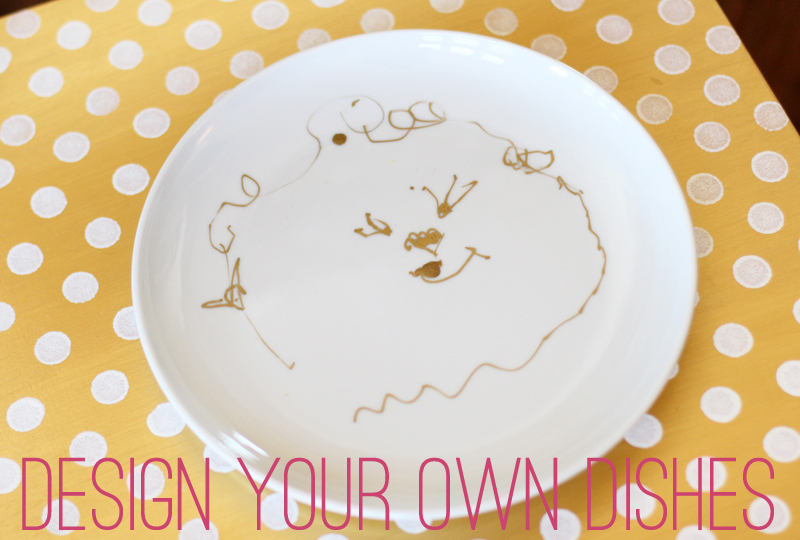Using no more than Sharpie markers and plain dinnerware it seems you can create gorgeous designs.  sc 1 st  Crate and Barrel & Design Your Own Dishes | Crateu0026Kids Blog