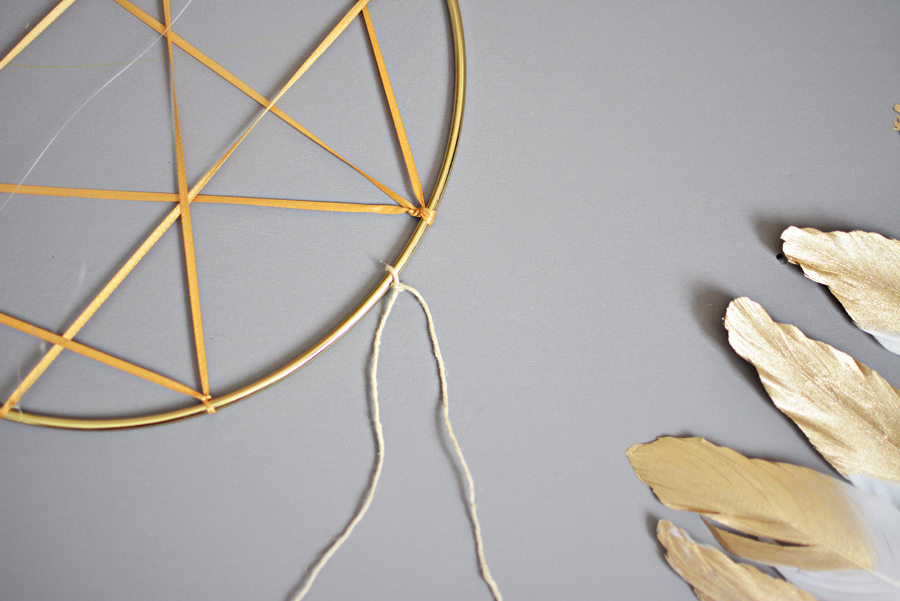 DIY Dream Catcher Mobile 24