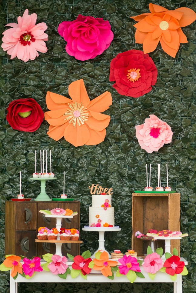 Wildflower Themed Birthday Party Crate Amp Kids Blog