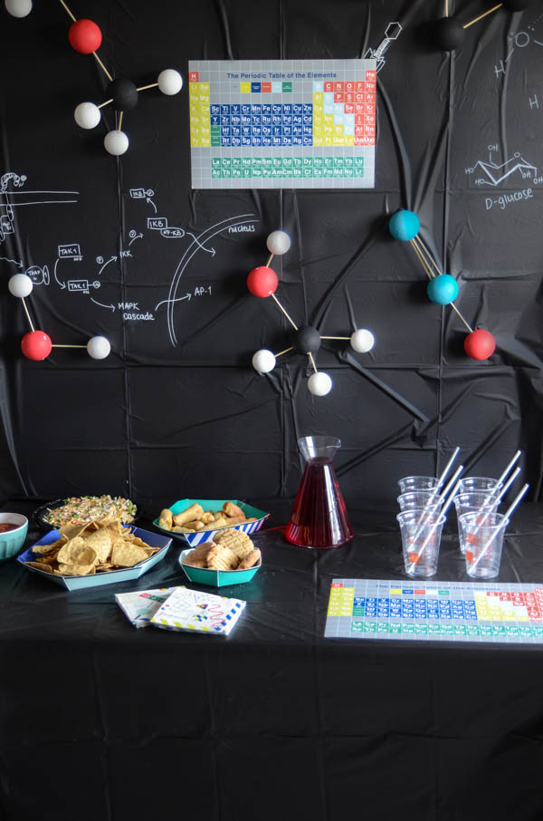 Science Themed Graduation Party Decorations
