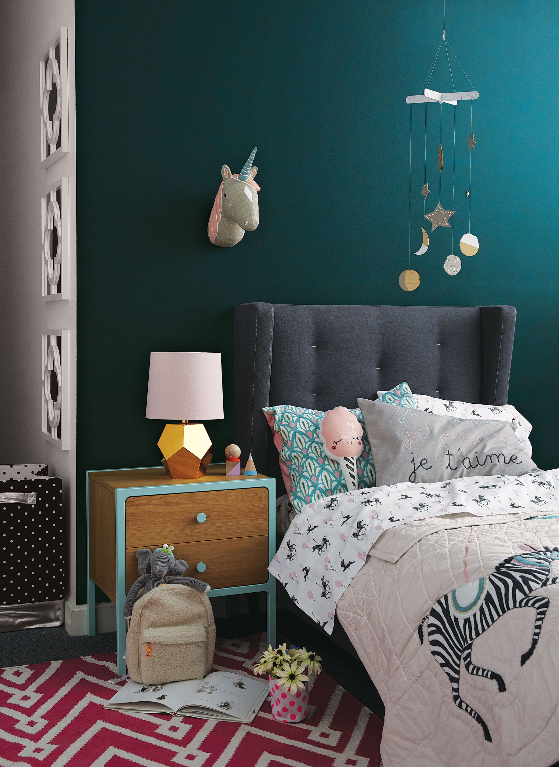How to Use Rich Wall Colors in Kids Rooms | Crate