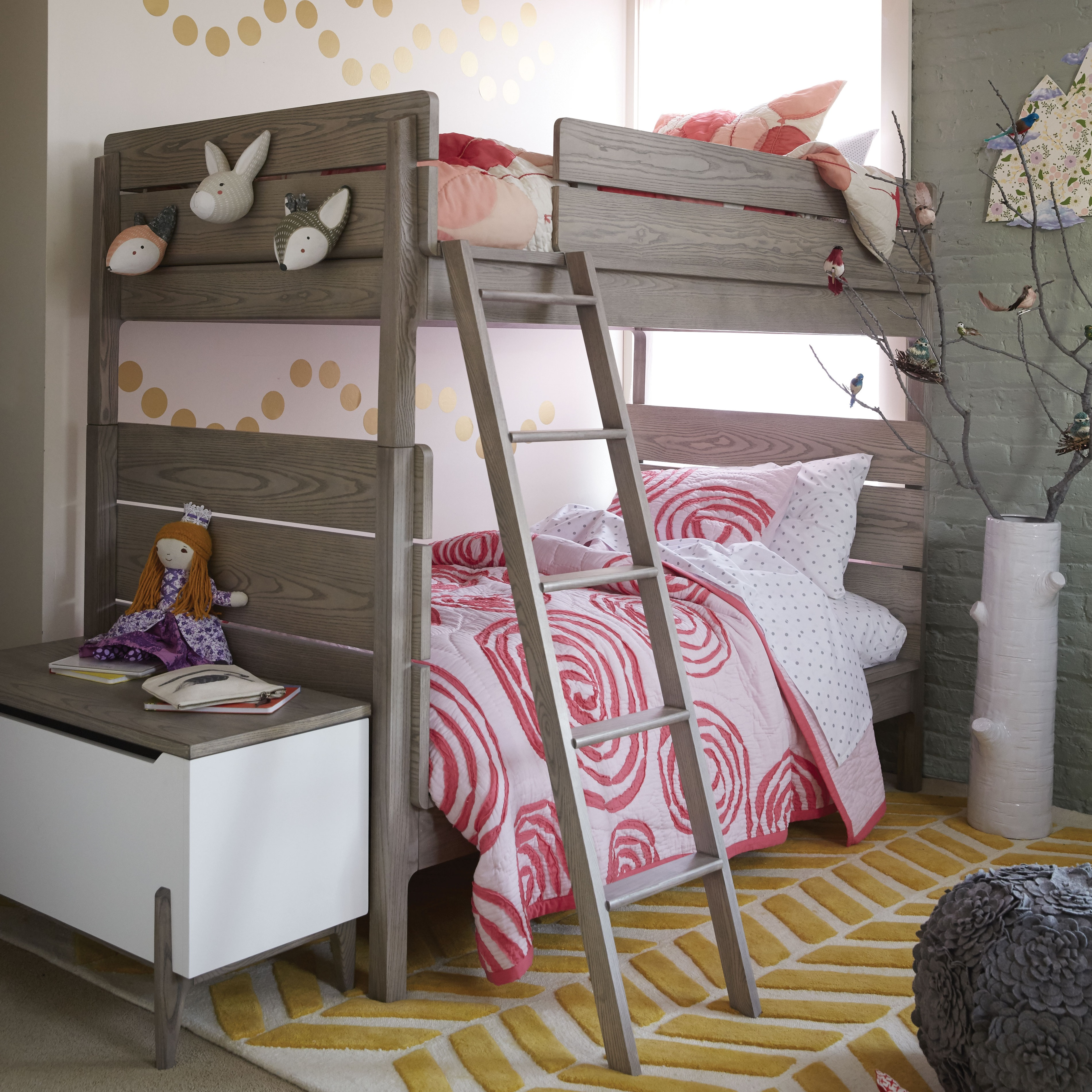 How To Style A Girls Bedroom Bunk Bed Crate Kids Blog