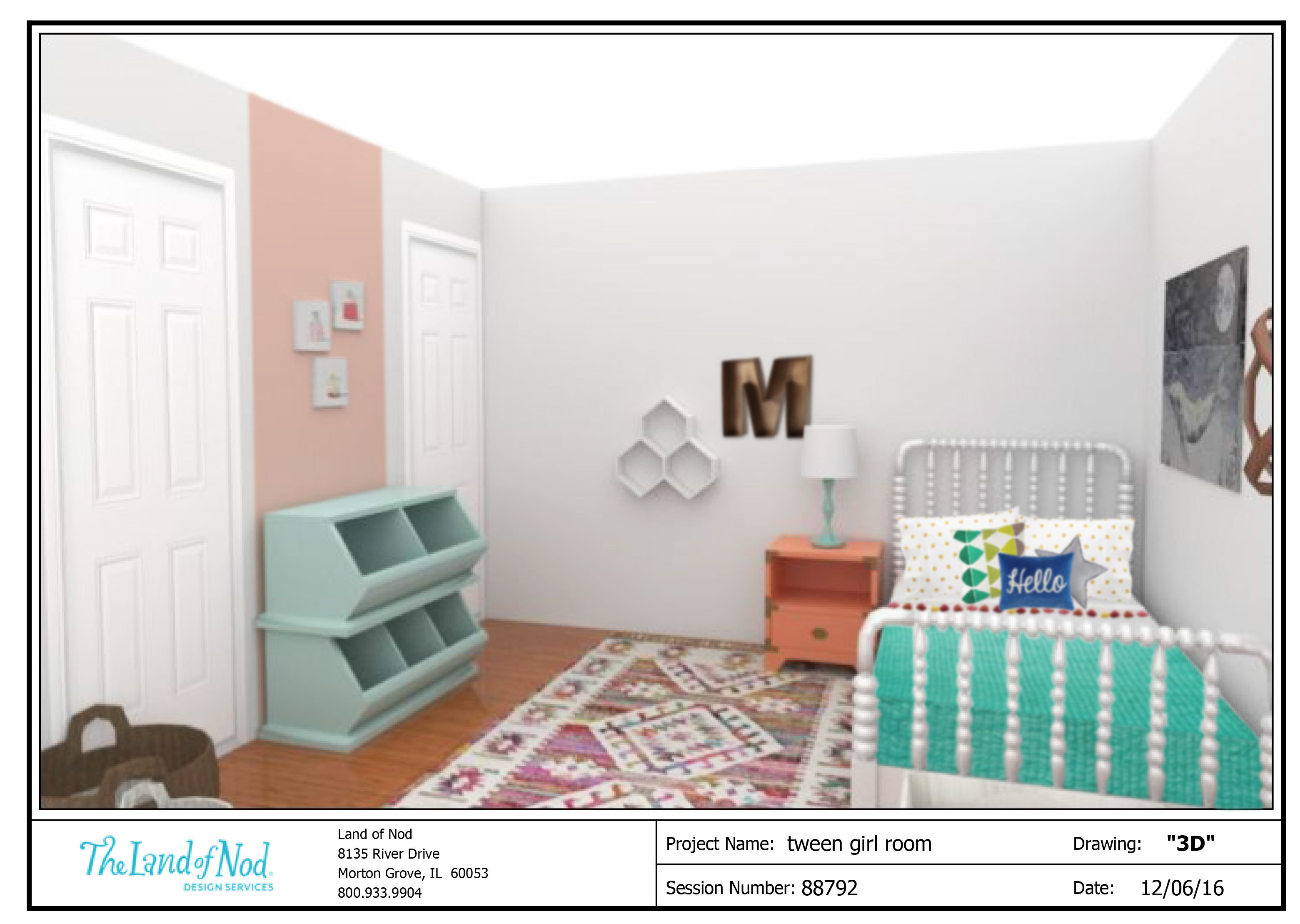 turquoise in room reveal girls white s gold twine tidbits teen bedroom and girl tween makeover tidbitstwine