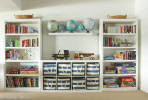 How To Organize Your Playroom With Land Of Nod Bins For The Ikea