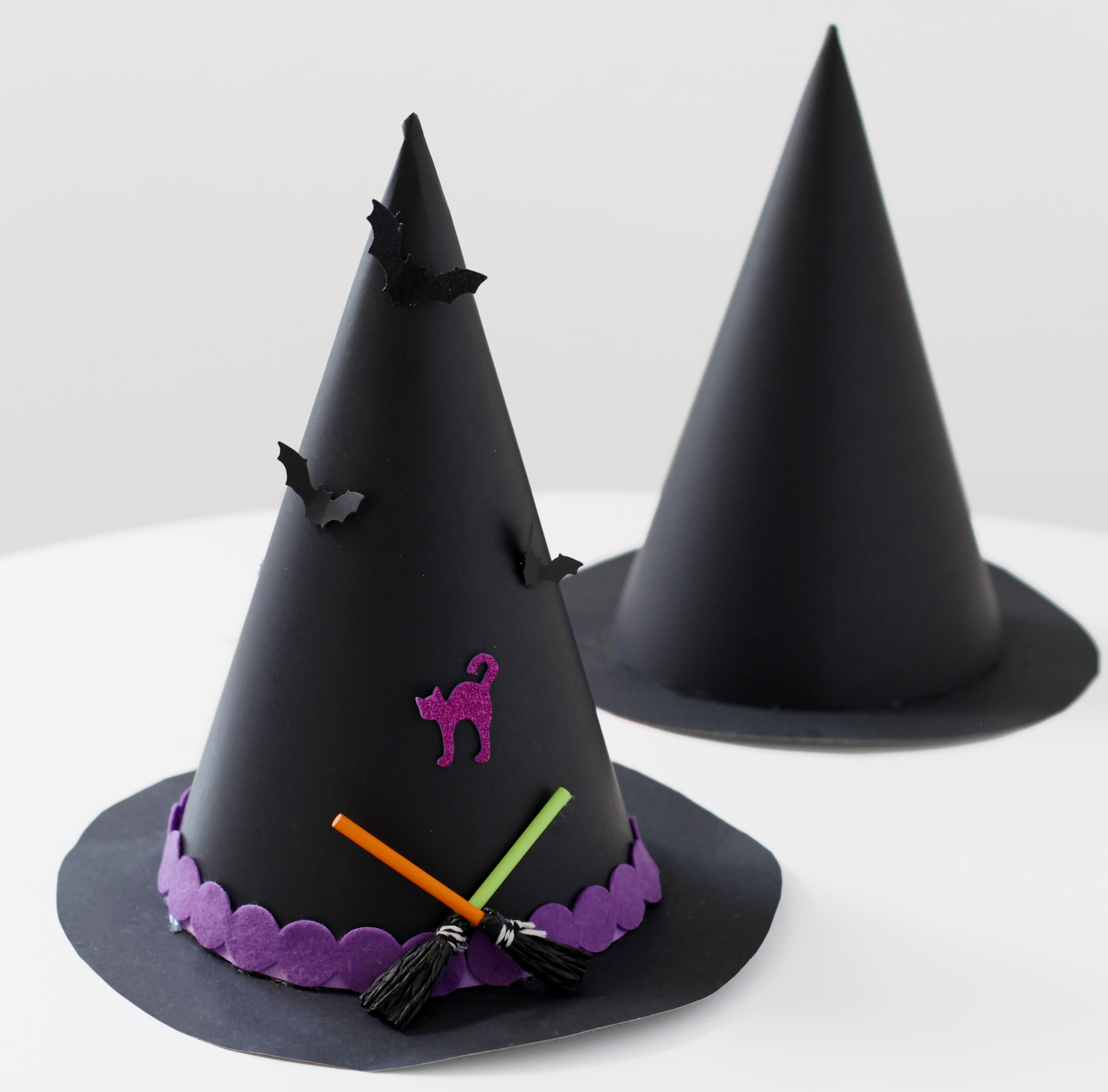 Witch Hat Halloween Kids Craft | Crate&Kids Blog