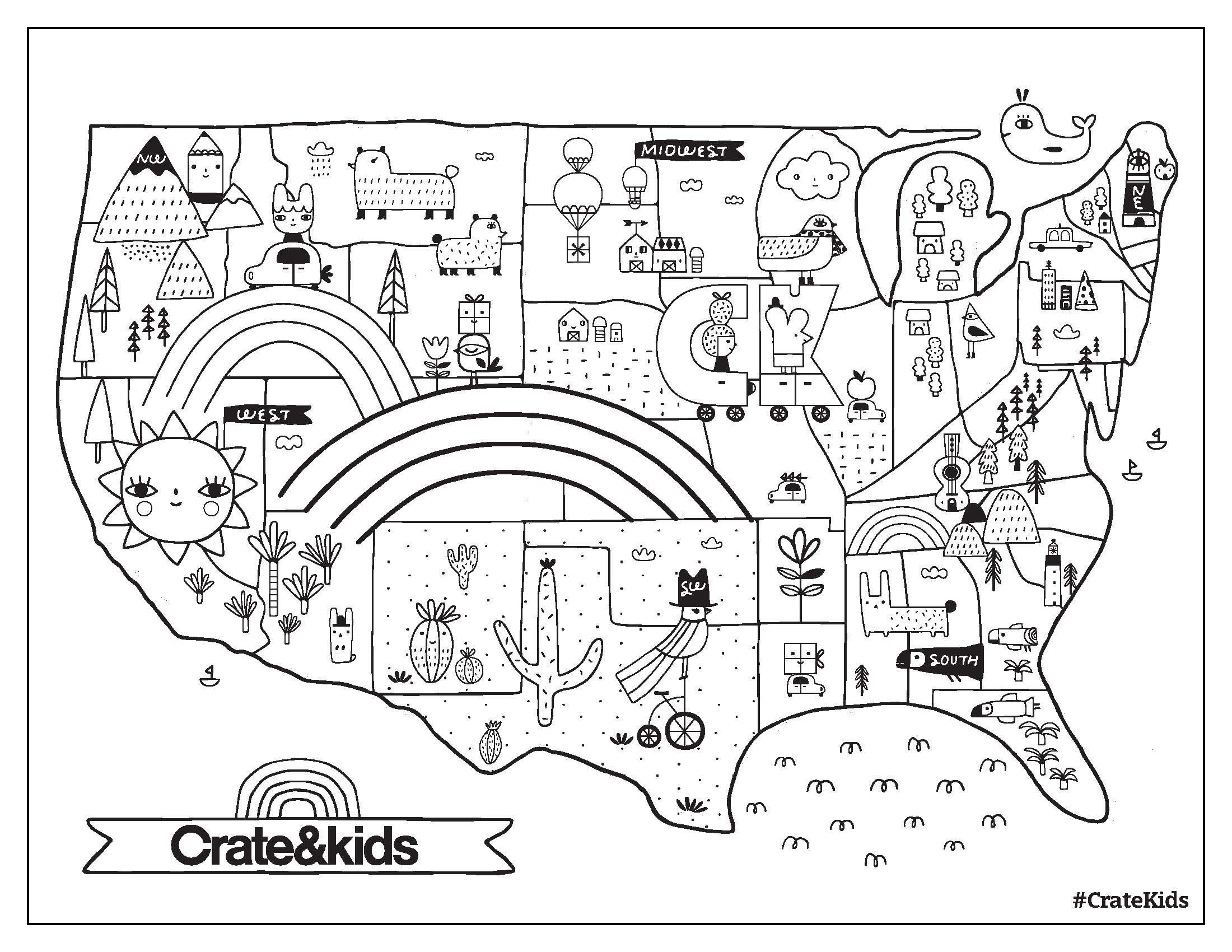 Crate And Kids Free Printable Coloring Page Crate&Kids Blog